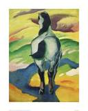 Blue horse II Giclee Print by Franz Marc