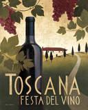 Wine Festival I Poster par Marco Fabiano