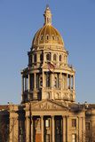 Colorado State Capitol Building, Denver, Colorado, USA Photographic Print by Walter Bibikow