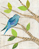 Birds in Spring I Prints by Courtney Prahl