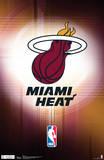 Miami Heat Logo NBA Sports Poster Prints