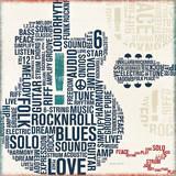 Michael Mullan - Type Guitar Square II - Sanat