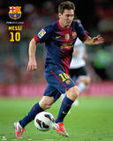 FC Barcelone - Messi Photographie