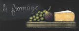 Chalkboard Menu III - Fromage Posters by Emily Adams