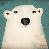 Polar Bear Poster by Ryan Fowler