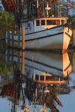Shrimp Boat Docked at Harbor, Apalachicola, Florida, USA Photographic Print by Joanne Wells