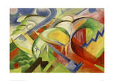 Sheep 1914 Giclee Print by Franz Marc