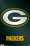 Green Bay Packers Logo NFL Sports Poster Print