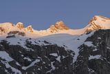 Sunrise on Mt Reichenspitze, Mt Gabler, National Park Hohe Tauern, Austria Photographic Print by Martin Zwick
