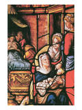 Birth of Saint Katharina Premium Giclee Print