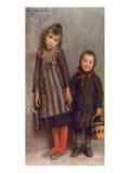 Chiusi Fuori di Scuola, 1859-1933 Premium Giclee Print by Emilio Longoni