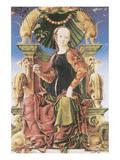 Allegorical Figure Premium Giclee Print by Cosimo Tura
