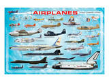 Airplanes for Kids Premium Giclee Print