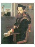 Bartolommeo Bonghi Premium Giclee Print by Giovanni Battista Moroni