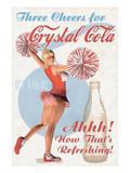 Crystal Cola - Birinci Sınıf Giclee Baskı
