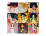 Nine Patches Square Premium Giclee Print