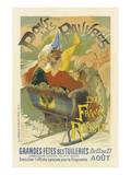 Grande Fete Des Tuileries Pour Les Pauvres De France Russie Wydruk giclee premium autor Gaston Noury