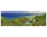 Orote Point Guam Premium Giclee Print by Michael Polk