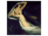 Paolo and Francesca Premium Giclee Print by Ary Scheffer