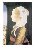 Ginevra Sforza Bentivoglio Premium Giclee Print by Ercole de Roberti