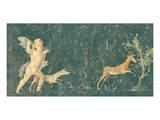 Pompeian Art - Putto Cocciatore Premium Giclee Print