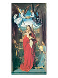 Virgin and Child With Four Angels, ca. 1505 Premium Giclee Print by Gerard David