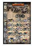 Motocross MX The Early Years 1924 - 1969 Premium Giclee Print