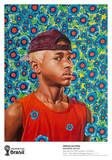 Randerson Romualdo Cordeiro Collectable Print by Kehinde Wiley