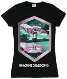 Juniors: Imagine Dragons - Geo T-skjorter