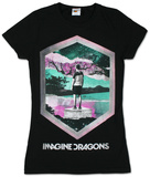 Juniors: Imagine Dragons - Geo T-shirts