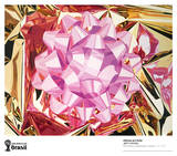 Pink Bow Collectable Print by Jeff Koons