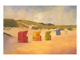 Summer Beach II Premium Giclee Print by Graham Reynolds