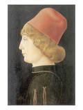 Portrait Of A Ferrarese Nobleman Premium Giclee Print by Cosimo Tura