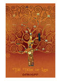 The Tree of Life Pastiche Brule Premium Giclee Print