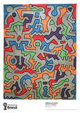 Palladium Collectable Print by Keith Haring
