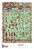 A Fun Time To Be A Fan Collectable Print by James Rizzi