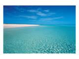 Seychelles Beach Giclee-tryk i høj kvalitet
