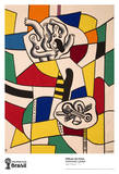 São Paulo Collectable Print by Fernand Leger