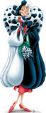 Cruella De Vil - 101 Dalmations Disney Villain Lifesize Poster Standup Stand Up