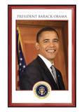 President Barack Obama - Tuesday, January 20th, 2009 Giclee-tryk i høj kvalitet