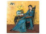 Portrait Of Miss Dora Wheeler Premium Giclee Print by William Merritt Chase