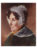 The Painter's Mother Premium Giclee Print by Friedrich Von Amerling