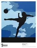 The Football Player Collectable Print by Vik Muniz