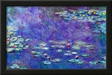 Claude Monet Water Lily Pond 3 Art Print Poster Posters