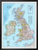 Map of Britain And Ireland Photo