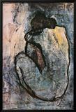 Nu azul, cerca de 1902 Posters por Pablo Picasso