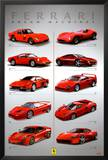 Ferrari - Dream Machines Print