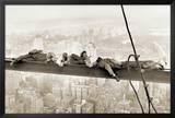 Men on Girder, 1930 Photo