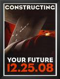 Star Trek Movie Constructing Your Future Poster Print Posters