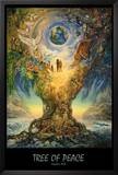 Tree Of Peace Posters by Josephine Wall